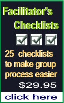 facilitator checklists